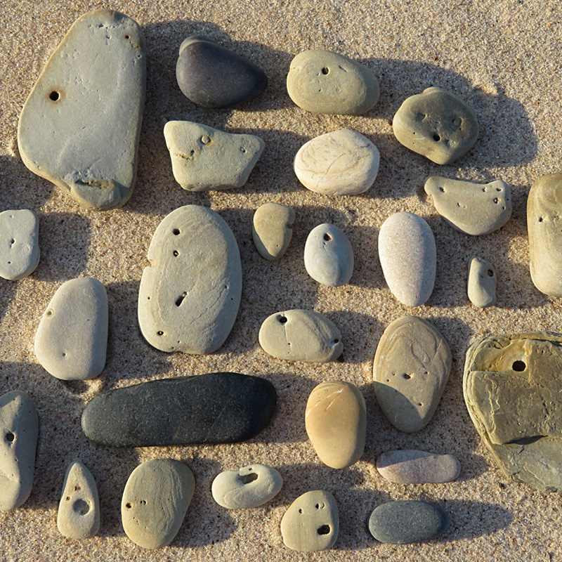 These rocks are watching.