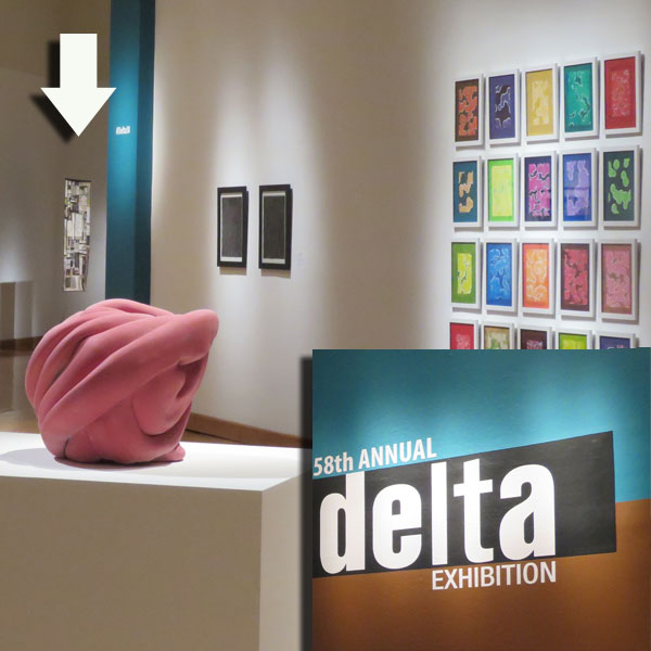 Pollinators is showing at the 58th Annual Delta Exhibition at the Arkansas Arts Center in Little Rock, Arkansas through August 28.  It received an Honorable Mention from the juror. The exhibition reflects the region's strong traditions of craftsmanship and observation, combined with innovative use of materials and an experimental approach to subject matter.