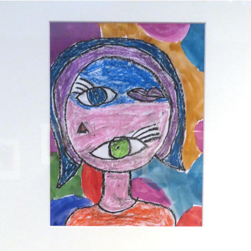 The Weird Girl  by Camden Wells, first grade