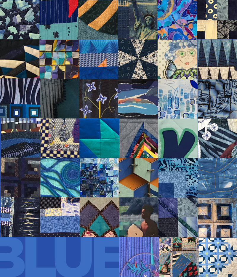 The BLUE show will be part of the STITCHED festival opening on May 10 at Crosstown Concourse in Memphis, TN.