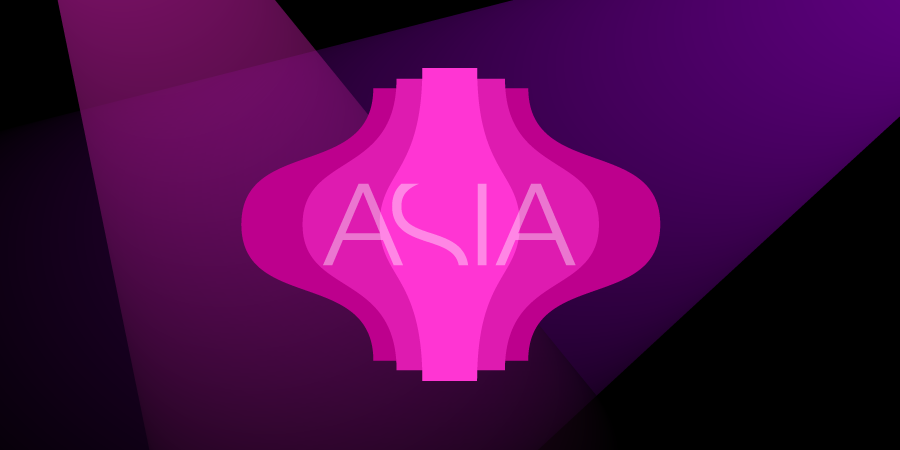 Brand for Malaysian restaurante ASIA