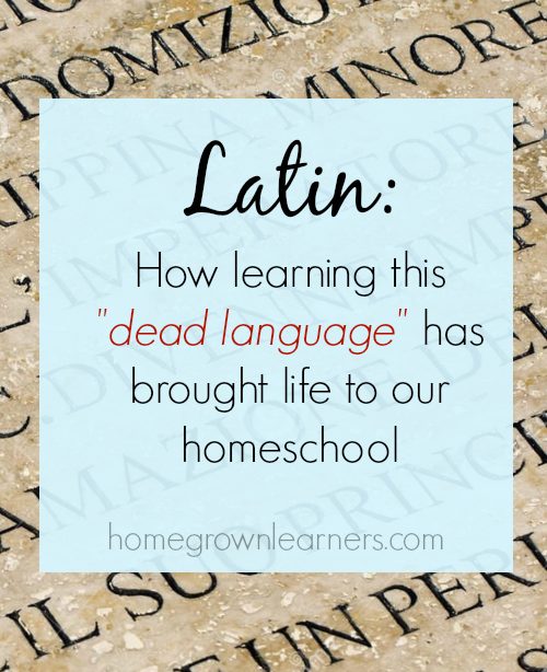 how to learn latin  u2014 homegrown learners