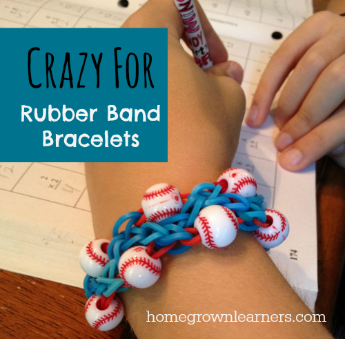 Making Rubber Band Bracelets