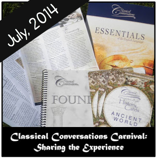 Classical Conversations Blog Carnival: July 2014