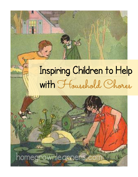 Inspiring Children to Help With Household Chores