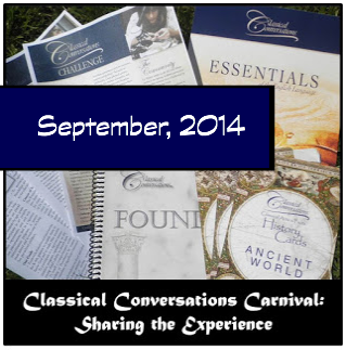 Classical Conversations Blog Carnival - September, 2014