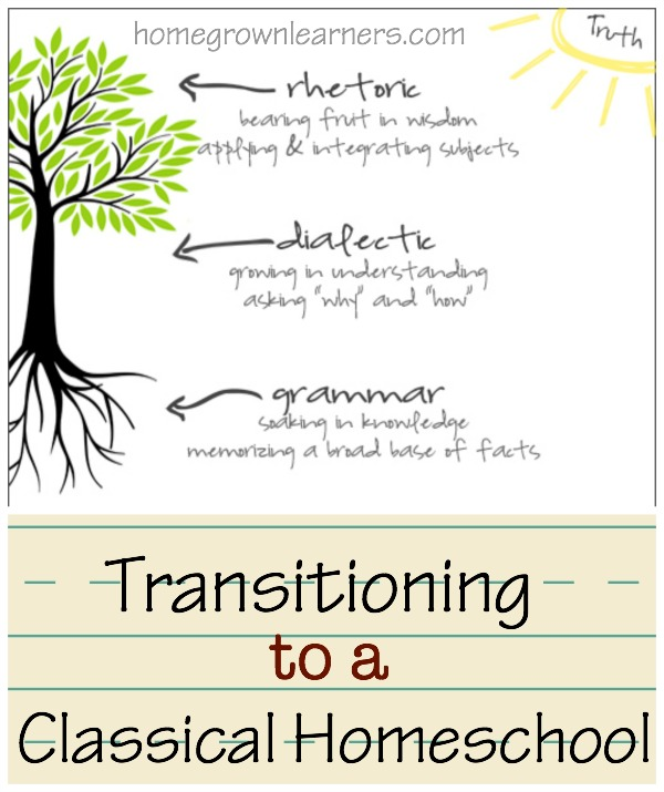 Classical Education: Making the Transition in Our Homeschool