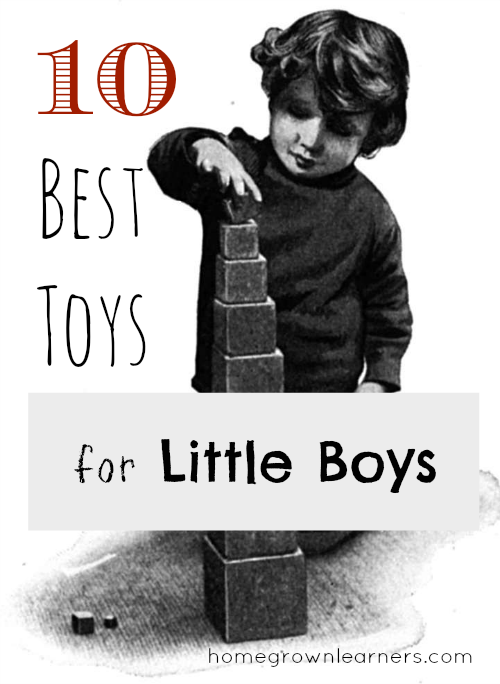 10 Best Toys For Boys : Best toys for little boys — homegrown learners