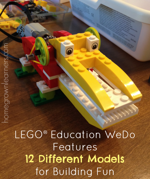 LEGO® Education WeDo Robotics in Your Homeschool — Homegrown Learners