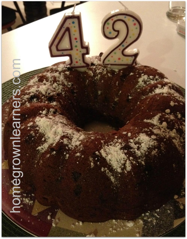 Bundt Cake Math Question