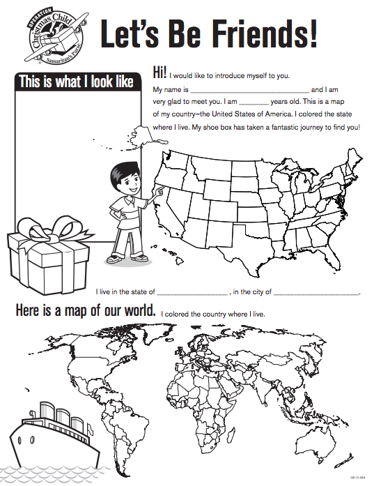Operation Christmas Child All About Me Coloring Page Hbdyxf Christmasgifts2020 Info