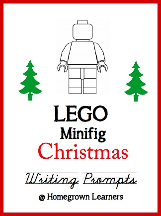 click to download the lego minifig christmas writing prompts