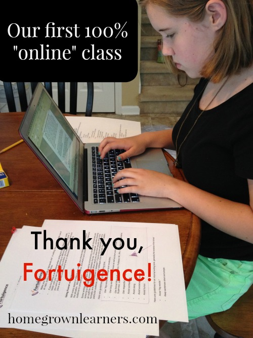 Online Writing Classes with Fortuigence