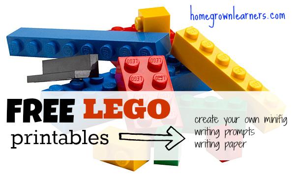 Free LEGO Printables