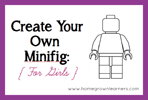 Create Your Own Lego Minifigures Printables For Boys