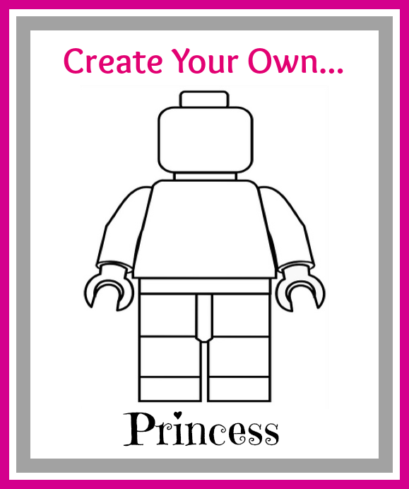 Create Your Own Lego Minifigures Printables For Boys Girls