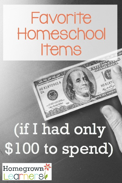 Favorite Homeschool Items