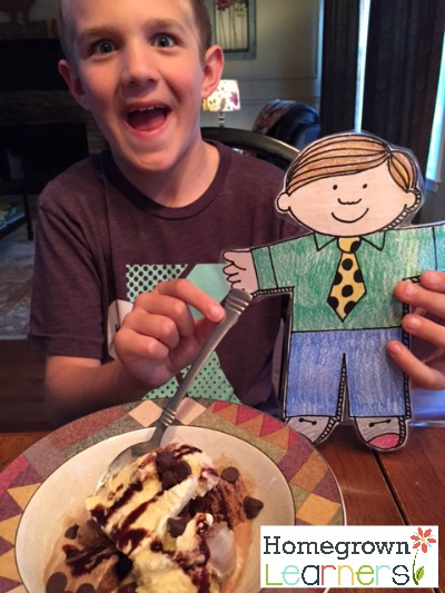 Grant and Flat Stanley