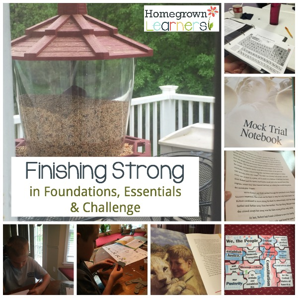 Finishing Strong in Foundations, Essentials, & Challenge