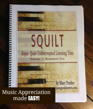 SQUILT: Music Appreciation made EASY