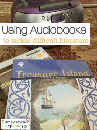 Using Audiobooks to Tackle Difficult Literature