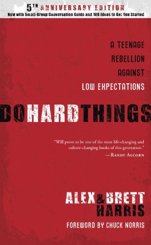 Do Hard Things - a great book for teens