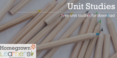 Free Unit Studies to download