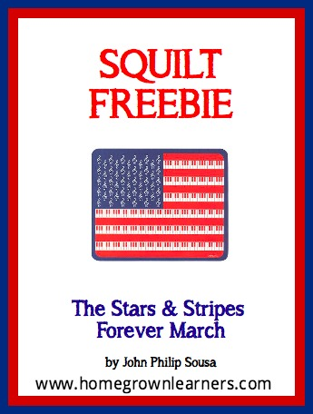 Free SQUILT Music Appreciation Lesson - The Stars & Stripes Forever March