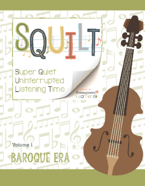 SQUILT Baroque Era Volume 1