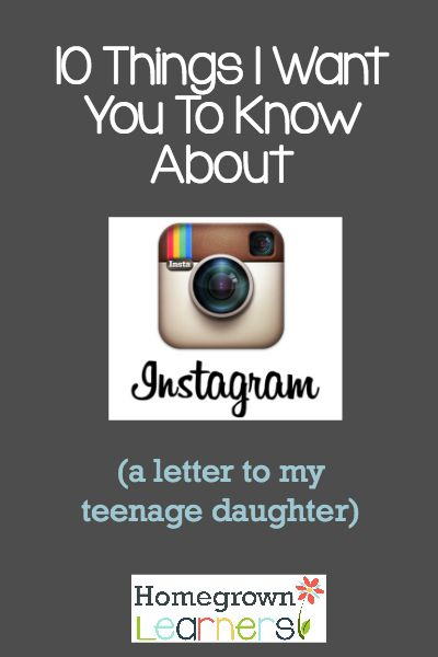 10 Things I Want You To Know About Instagram