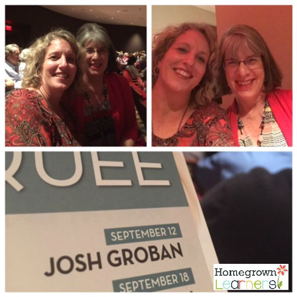 "Josh Groban ""Stages"" concert"