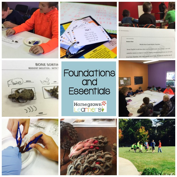 Foundation and Essentials (Classical Conversations Homeschool Program)