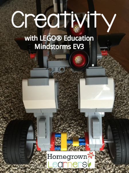 Creativity with LEGO® Education Mindstorms EV3