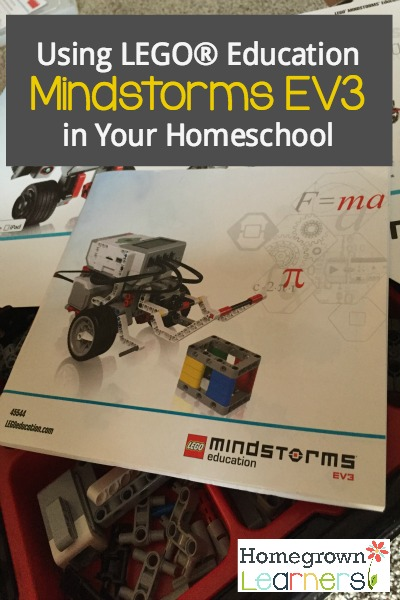 LEGO® Education Mindstorms EV3 in your homeschool