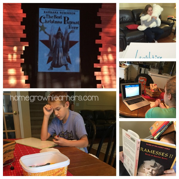 "Homeschool Fun and ""School"" in December"