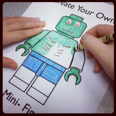 It is a photo of Lego Minifigure Printable regarding pattern
