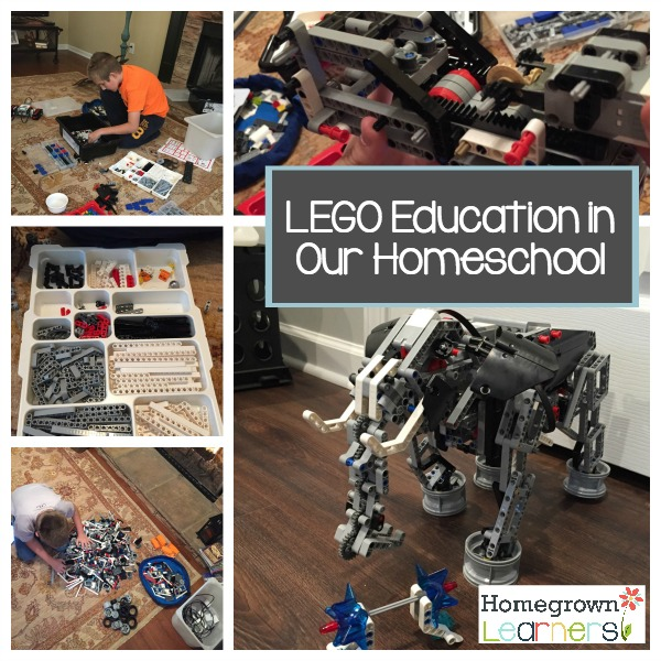 LEGO Education in Our Homeschool