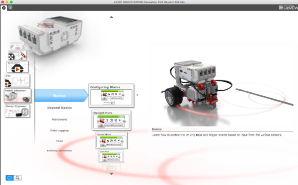 LEGO® Education Mindstorms EV3 programming