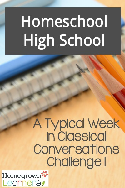 Homeschool High School with Classical Conversations Challenge Program