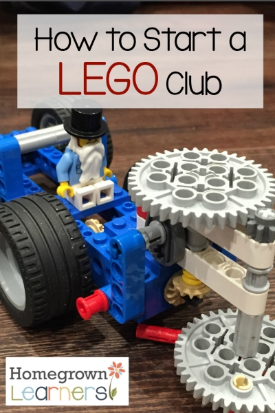 How to Start a LEGO® Club — Homegrown Learners