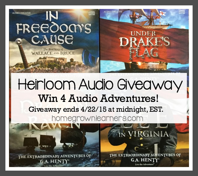 Win 4 Audio Dramas from Heirloom Audio