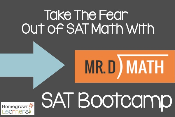 Take the Fear out of SAT Math With Mr. D Math SAT Bootcamp