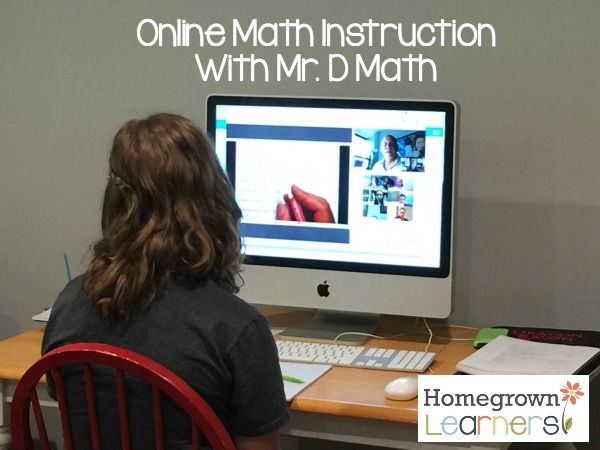 Online Math Instruction with Mr. D Math