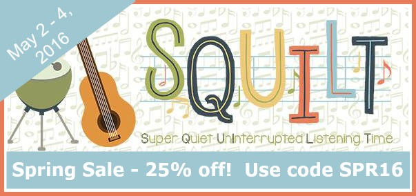 SQUILT Music Spring Sale