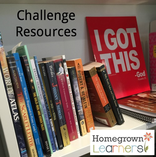 Organizing Homeschool Bookshelves at Homegrown Learners