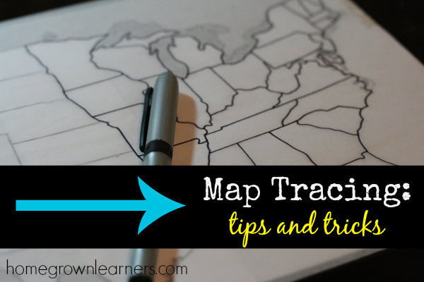 Map Tracing Tips and Tricks from Homegrown Learners