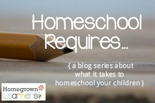 Homeschool Requires