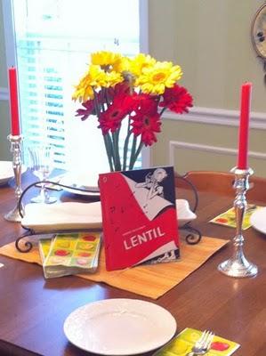 Have a book party -- Lentil