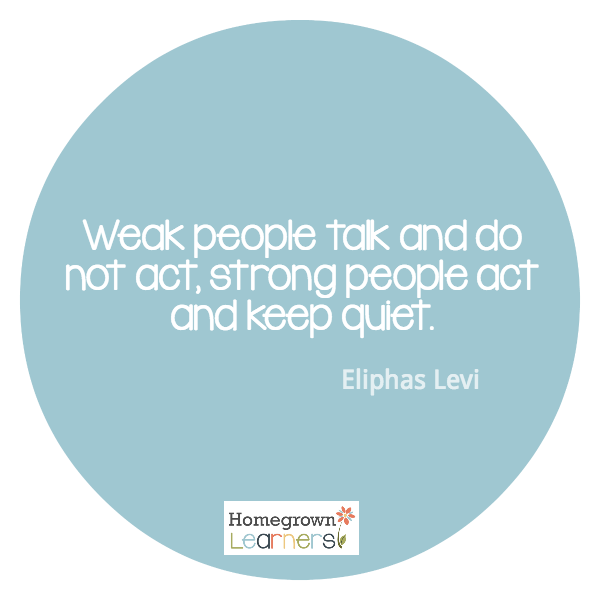 Weak People quote