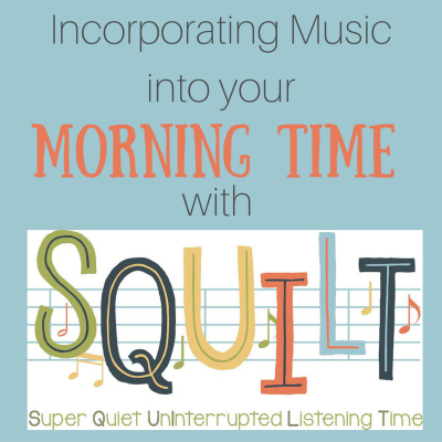 Incorporate Music Into Your Morning Time with SQUILT